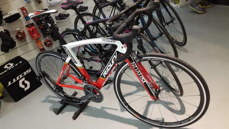 Les premiers vélos Ridley !